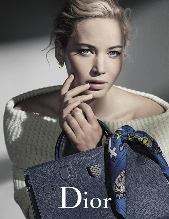 Foto de Dior campaña Otoño-Invierno 2016/2017 con Jennifer Lawrence (4/5)