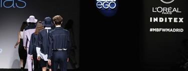 Mikel Colas hace del denim minimalista la carta de apertura de la Fashion Week de Madrid