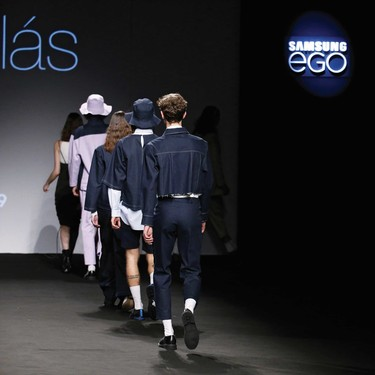 Mikel Colas hace del denim minimalista la carta de apertura de la Fashion Week de Madrid