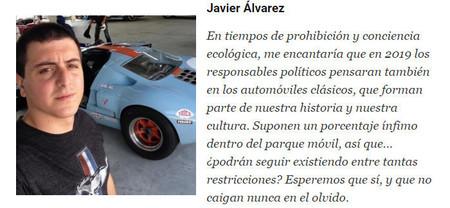 Javier Alvarez 2019