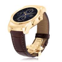 LG también tiene su reloj de lujo, le mete oro y cocodrilo a su Watch Urbane