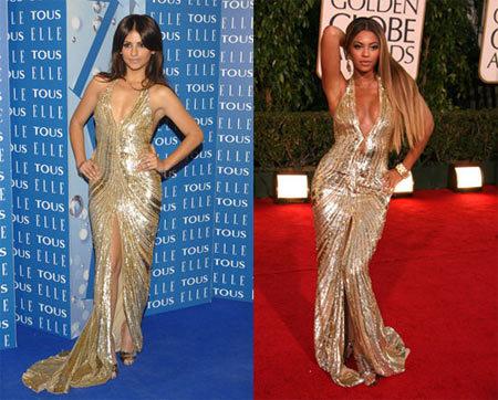 Vestido de Elie Saab: ¿Beyoncé o Mónica?