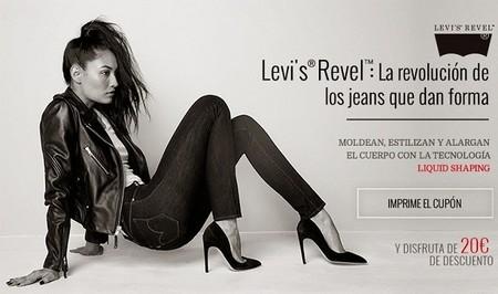 Cupón de 20 euros de descuento para el nuevo Levi´s Revel con Glamour