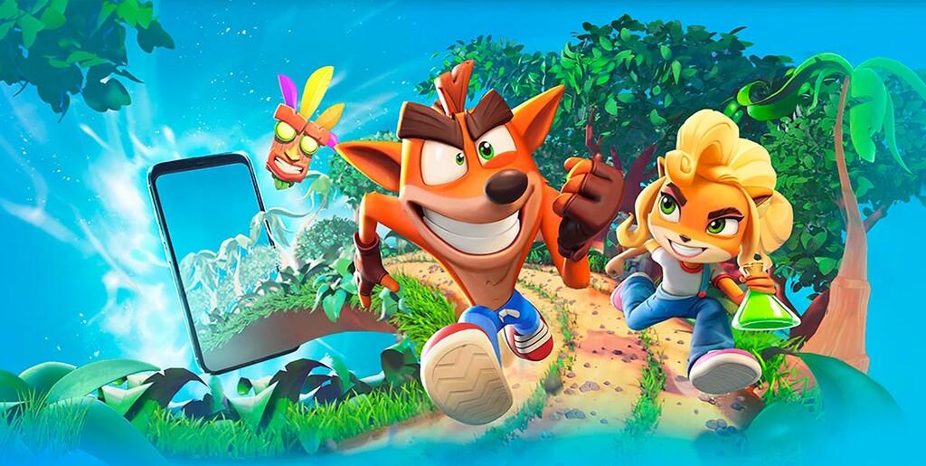 Crash Bandicoot para Android, la descarga de la adaptación para celulares ya en Google™ Play Store