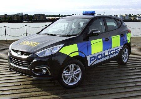 Hyundai será el suministrador preferido de la policía de Reino Unido