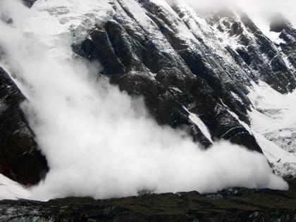 La imagen de la semana: Avalancha en los Annapurnas