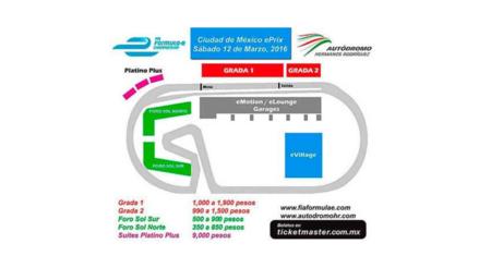 20151203 Precios Formula E Mexico City Eprix