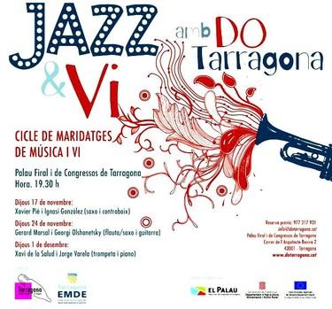 Jazz y vino con DO Tarragona
