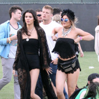 Kendall Jenner y Kylie Jenner Coachella 2014