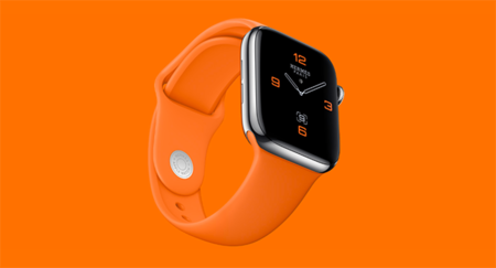 Apple Watch Hermes Naranja