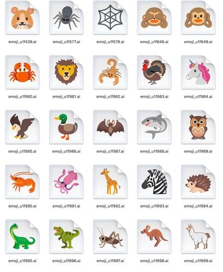 Android 11 Final Emoji Animals 2
