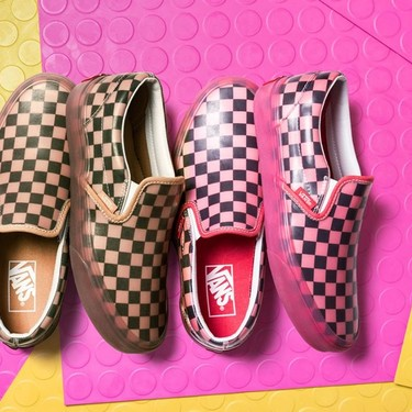 La herencia del estilo: zapatillas Translucent Rubber Classic Slip-On de Vans