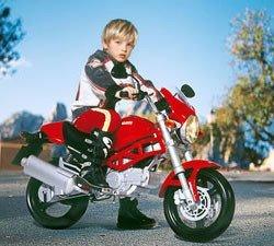 La moto de los futuros campeones, Peg Perego Ducati Monster