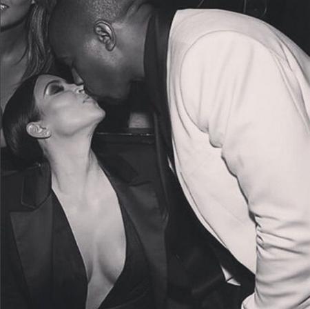 Kim Kardashian Beso