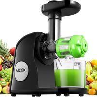 Por 54,99 euros tenemos la licuadora para frutas y verduras Aicok gracias a un cupón de descuento de 25 euros en Amazon