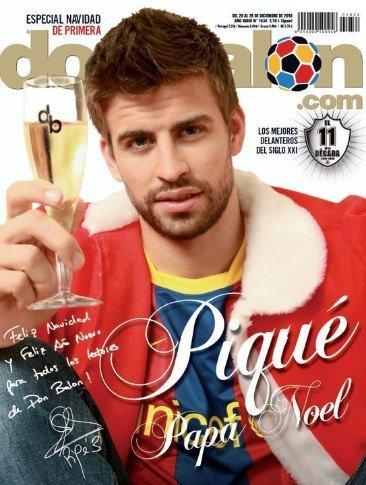 Gerard Piqué, todo lo que quiero por Navidad es... ¡a ti!
