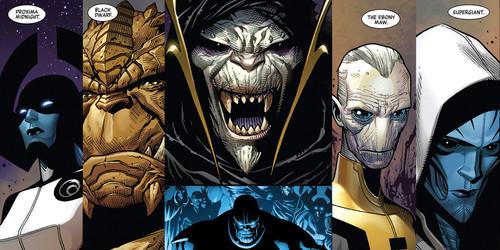 ¿Quiénes son los nuevos villanos de 'Vengadores: La guerra del infinito'? Te presentamos a los hijos de Thanos