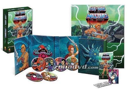 Edición especial en DVD de He-Man