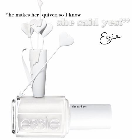 Con Essie el 'sí, quiero' se hace más especial