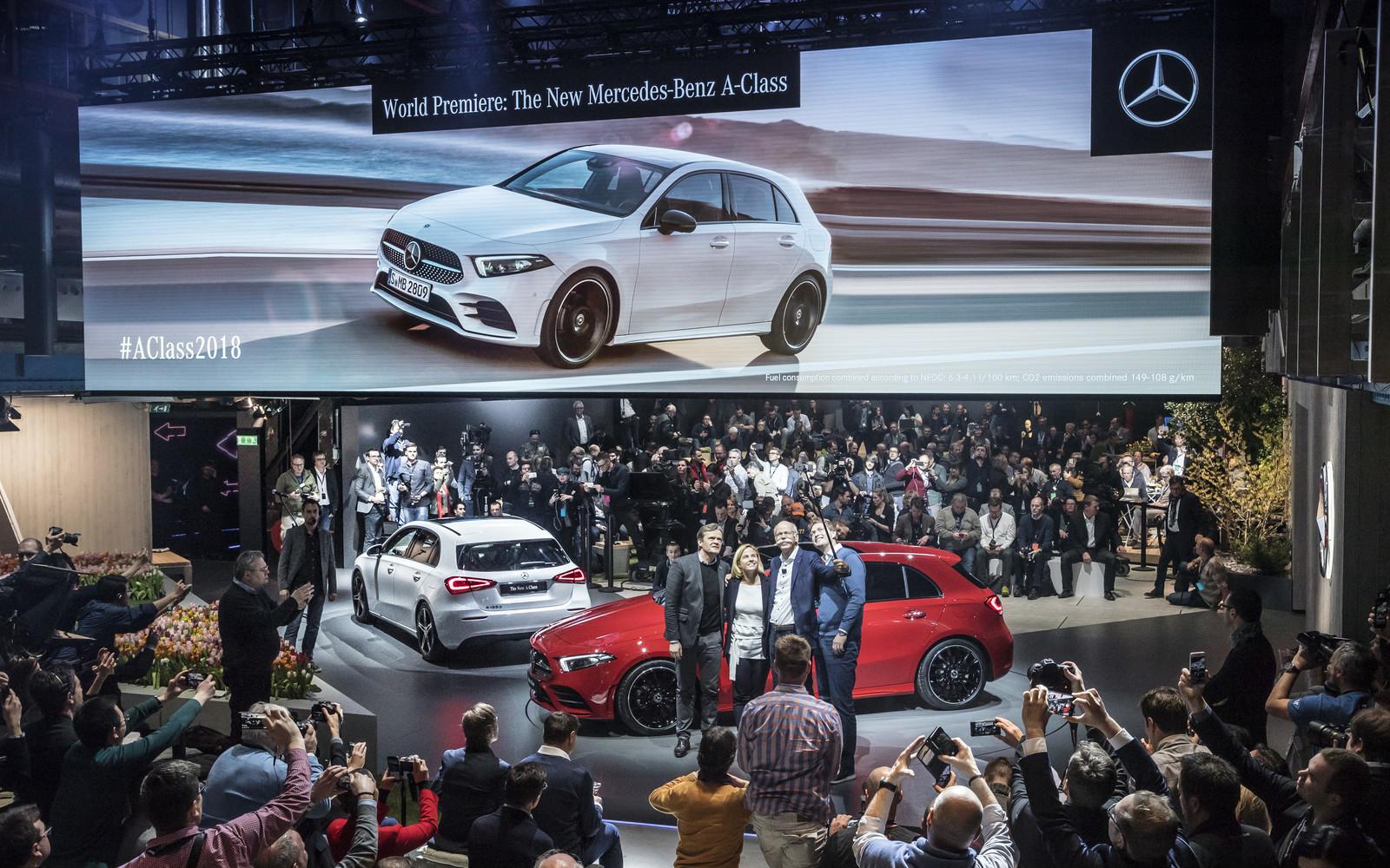 Foto de Mercedes-Benz Clase A 2018 - presentación (33/114)