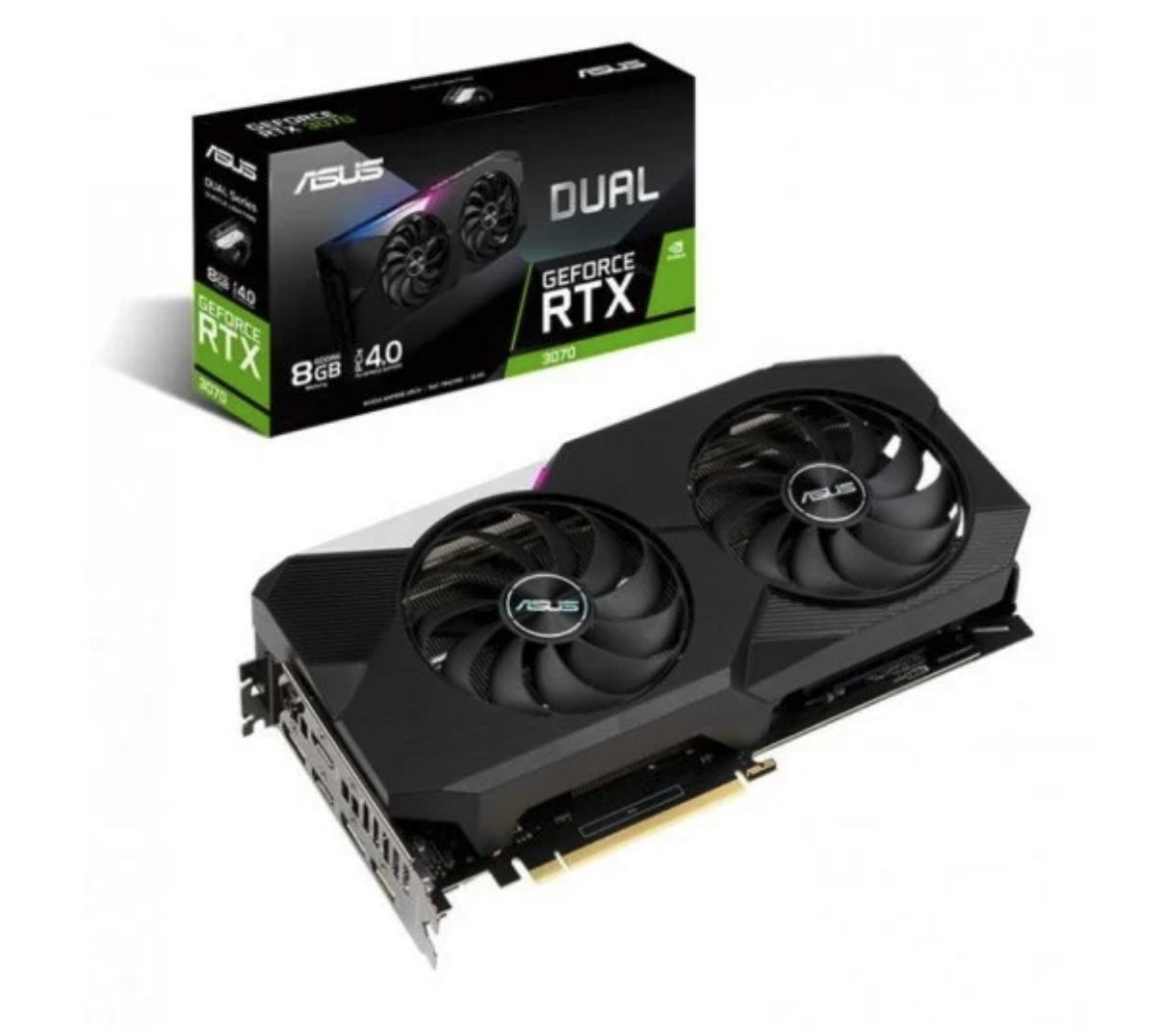 Asus GeForce RTX 3070 Dual 8 GB GDDR6
