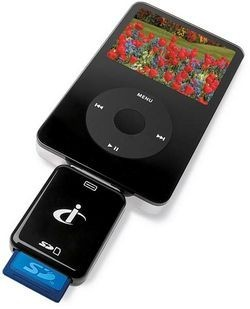 Lector de tarjetas para el iPod