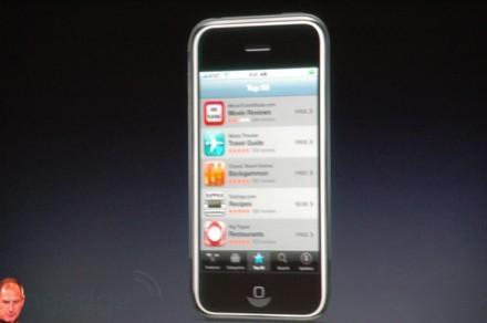 Aplicaciones de terceros en el iPhone y en el iPod touch
