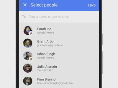 Google Fotos estrena una forma más rápida para compartir fotos y vídeos junto a otra novedad