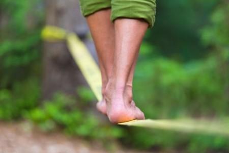 Entrena tu equilibrio para una buena salud física