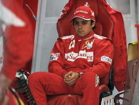 Felipe Massa admite su descontento por la decisión de Ferrari