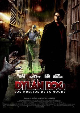 Dylan Dog, los muertos de la noche cartel