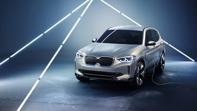 BMW iX3 Concept, el primer SUV 100% eléctrico de la marca está a punto de llegar