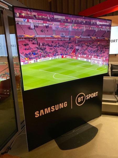 Samsung y BT presumen de resolución 8K en su primera retransmisión deportiva en directo
