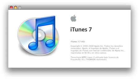 Disponible iTunes 7.7, ya falta menos para la llegada del iPhone 3G