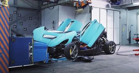 Crash Test Hiperdeportivo Rimac C Two 2