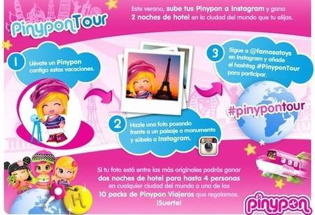 Si habéis viajado con las Pinypon de tus hijos, puedes participar en este simpático concurso