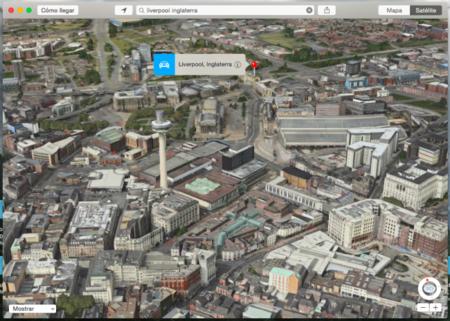 Ahora podemos visitar once ciudades más dentro de la vista Flyover de los Mapas de Apple