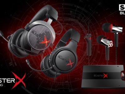 Creative Labs presenta la gama Sound BlasterX Pro-gaming