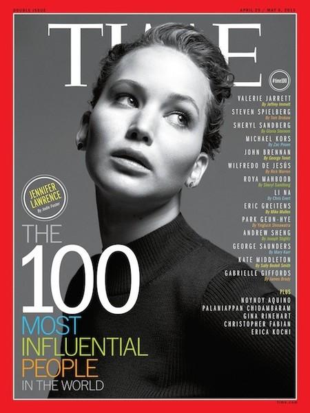 Jennifer Lawrence sigue sumando honores: ahora, entre las 100 personas más influyentes del mundo