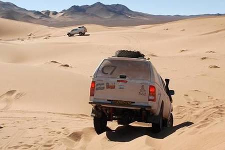 Dakar 2010, el recorrido