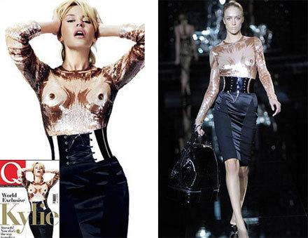 Kylie Minogue de Dolce & Gabbana