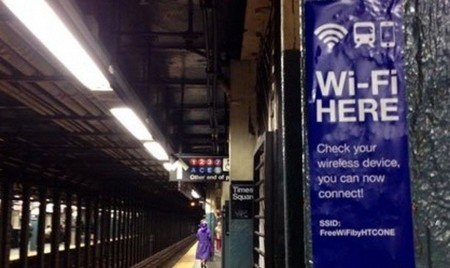 El WiFi gratis se extiende por el metro de Nueva York
