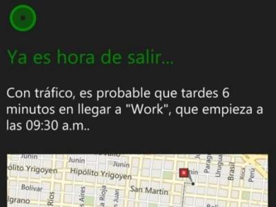 Cortana se deja ver respondiendo en español