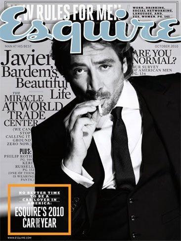 """Javier Bardem el hombre """"Biutiful"""" de Esquire"""