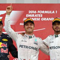 Nico Rosberg golpea de nuevo y Mercedes se alza con el Campeonato de Constructores