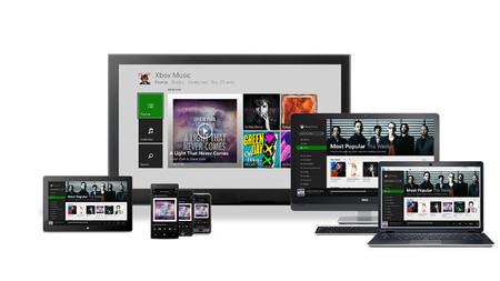 Xbox Music se expande: Android, iOS y streaming gratis desde la web