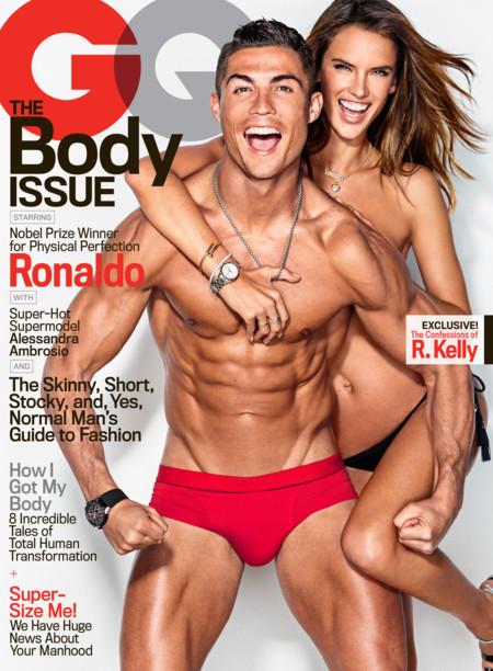Cristiano Ronaldo y Alessandra Ambrosio ¡suben la temperatura de los kioscos!