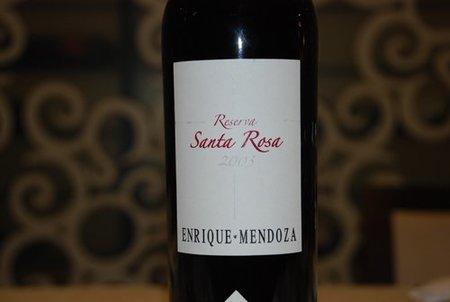 Santa Rosa 2003. El mejor cabernet de España