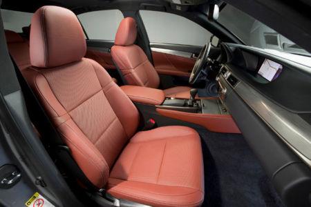 Lexus GS 450h Fsport Asientos delanteros