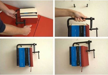 Librería Newton, desafiando a la gravedad